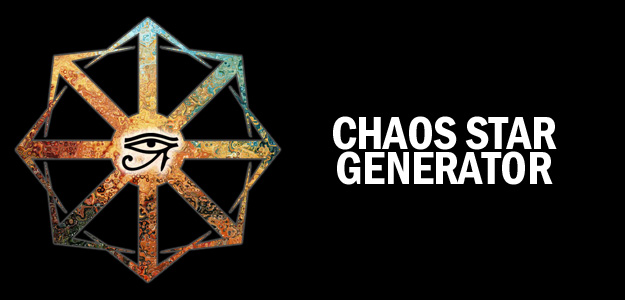 The Chaos Star Generator | Code for Magick
